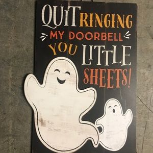 Funny Halloween Sign
